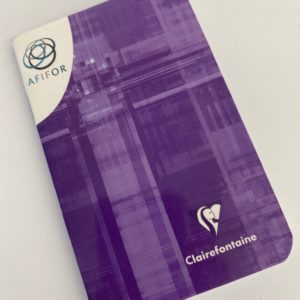 Carnet Clairefontaine