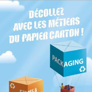 Décollez avec les métiers du papier carton